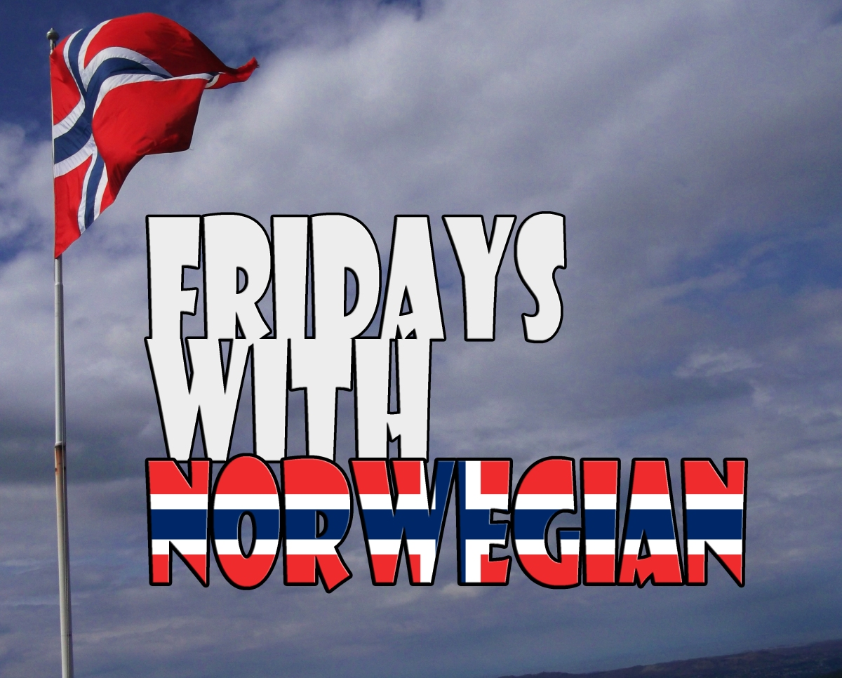 Fridays with Norwegian #8 – idioms.