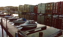 Trondheim – arriving & first day.