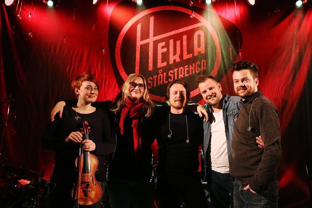 Norwegian band #1: HeklaStålstrenga.