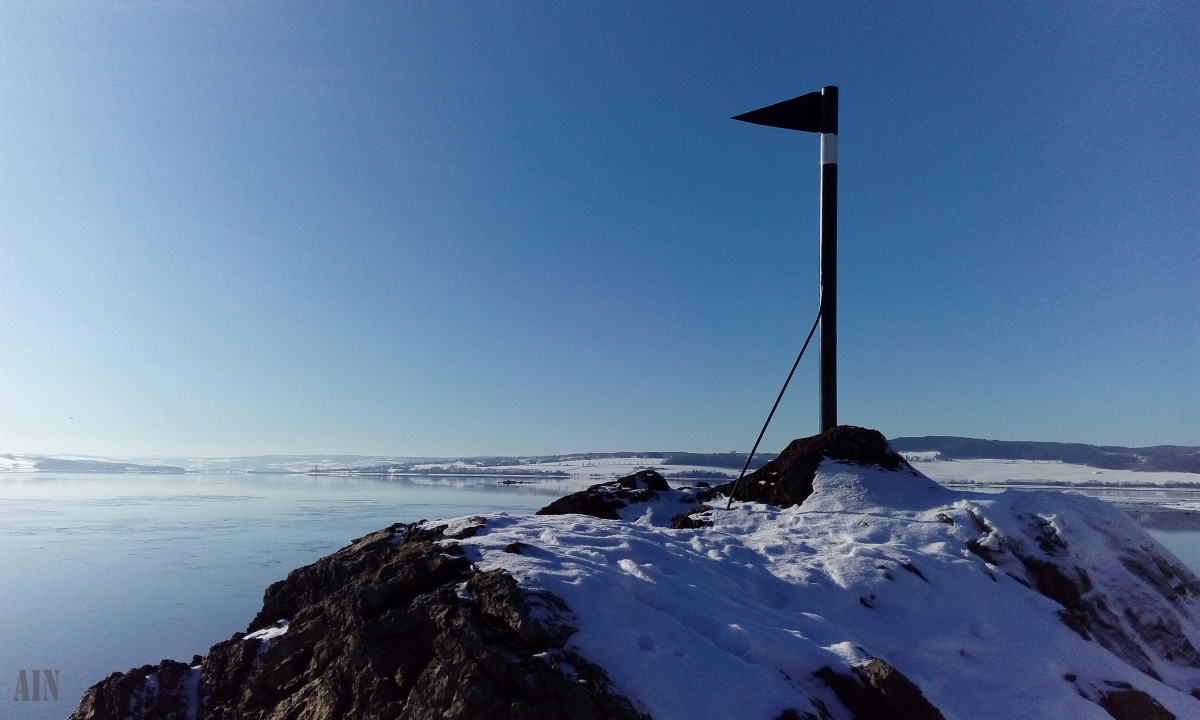 Mjøsa coastline session.