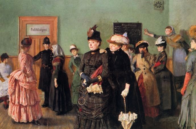 Christian Krohg – the naturalistic painter.