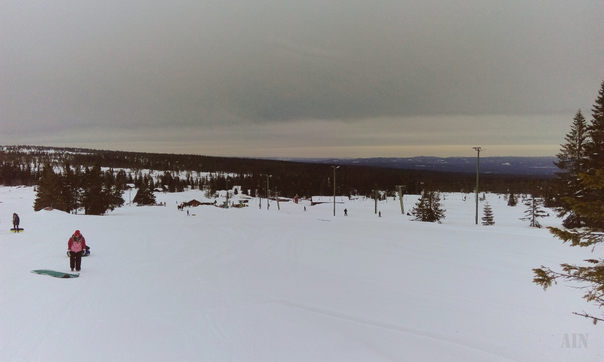 Winter sport in Budor & NSBcampaign.