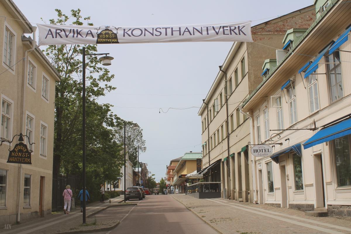 Arvika, Sweden.